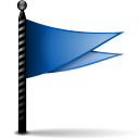Actions-flag-blue-icon