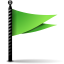 Actions-flag-green-icon