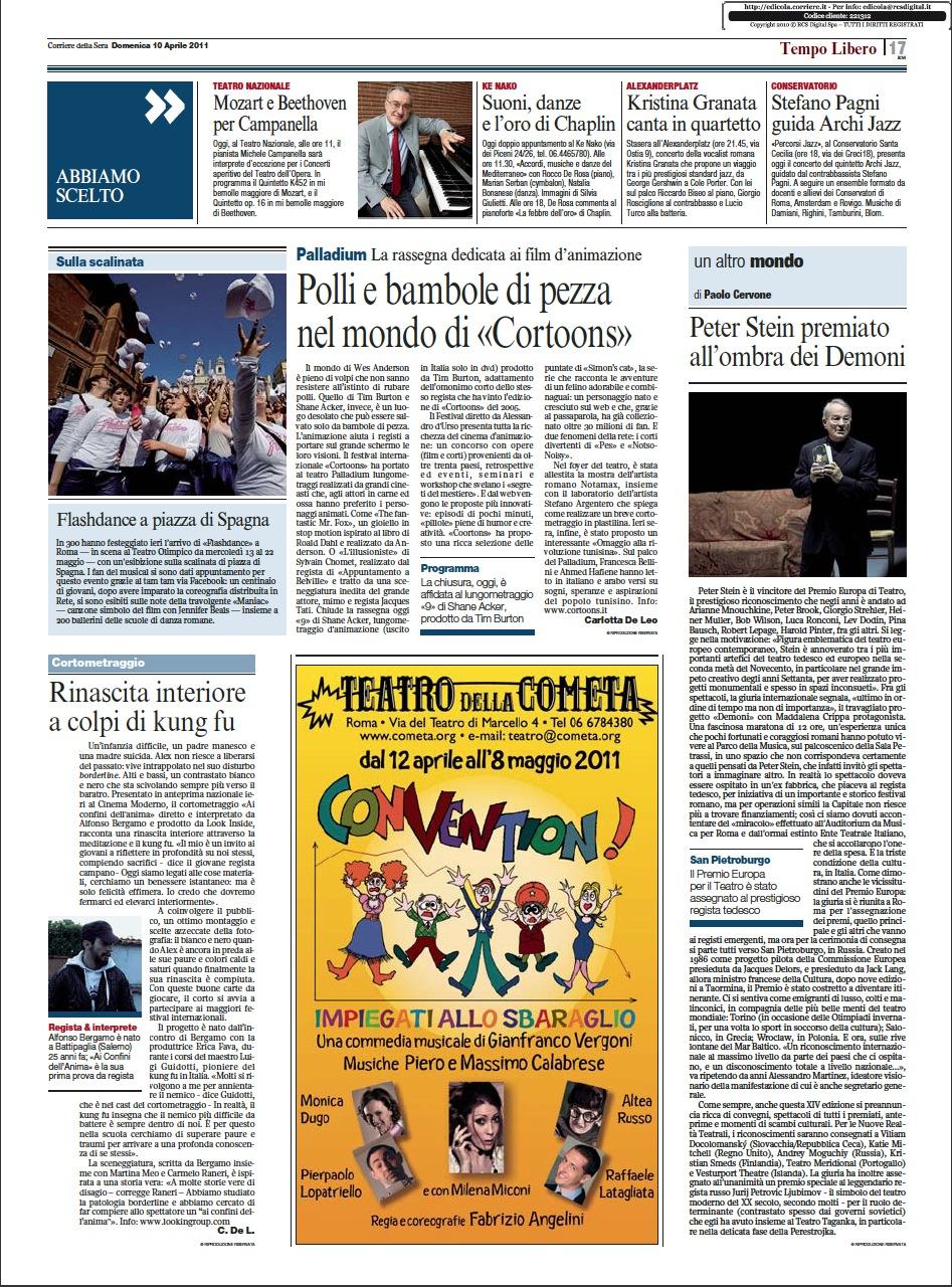 9 APRILE, ROMA: UN GRANDE SUCCESSO E TANTISSIMI CONSENSI!