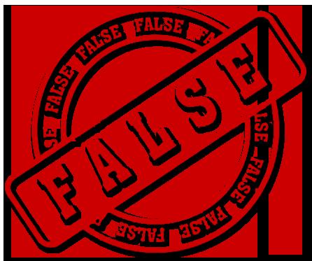 Falso e Pubblicità ingannevole!